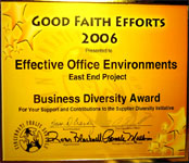 Business Diversity Award